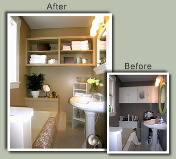 staging a bathroom homesmsp