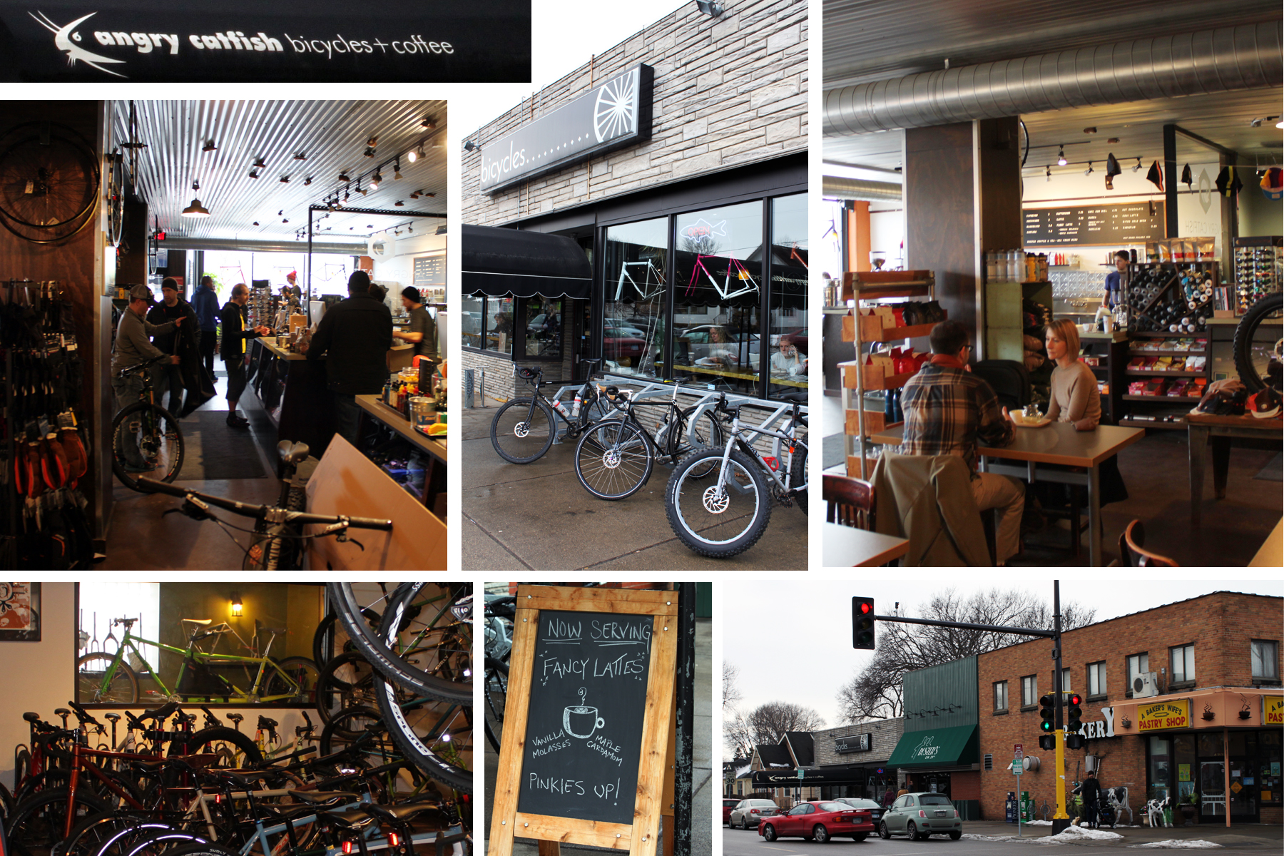 Bike Stores Mn : Angry catfish bicycle and coffee bar models