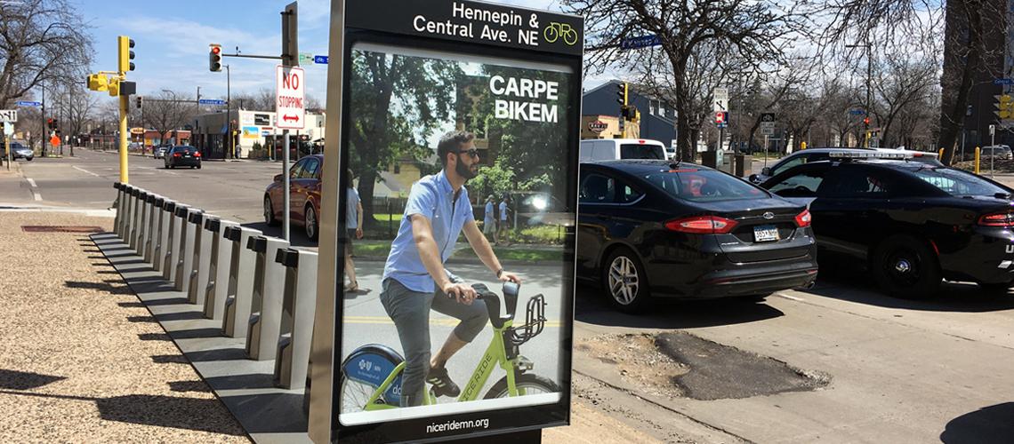 Minneapolis Bike riding