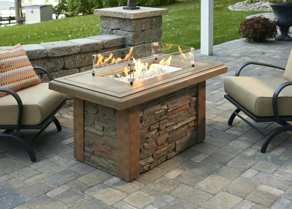 Outdoor Fireplace Tables Are Hot Hot Hot