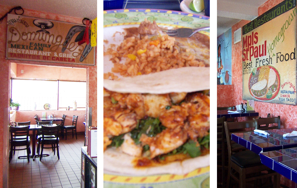 My New Discovery Was The Fantastic Dominguez Family Mexican Restaurant And Grill In Nokomis Area Of South Minneapolis