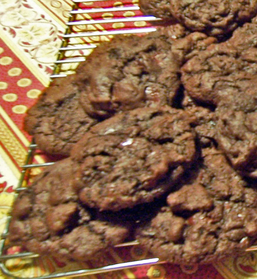 ... Unplugged - Dark Chocolate Cookies with Sour Cherries - HomesMSP
