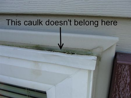 Reuben S Quick Tip Caulk Doesn T Belong Here Part Ii