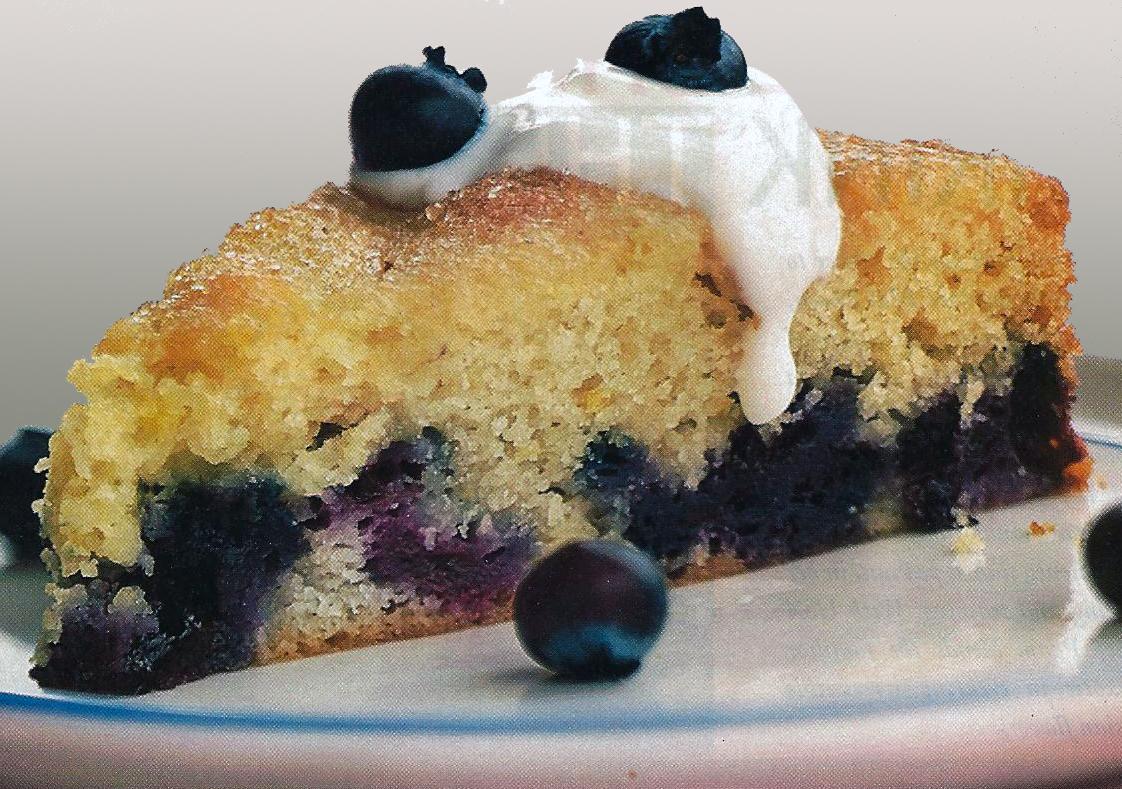 Blueberry Brunch Cake Cooking Light