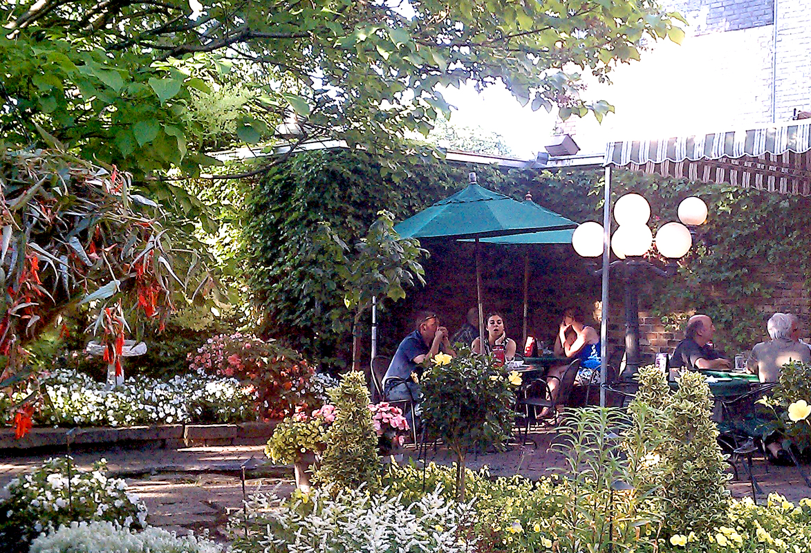 Jax Cafe... Outdoor Patio Dining Not To Be Missed