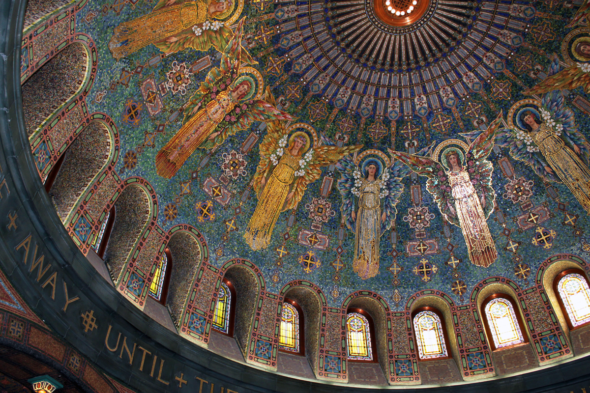 The most perfect example of Byzantine mosaic art in the US - HomesMSP
