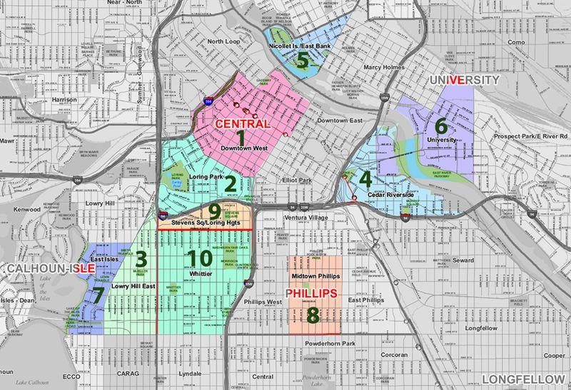 Most Walkable Minneapolis Neighborhoods
