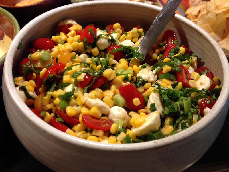 Wednesdays Unplugged - Caprese Corn Salad - HomesMSP