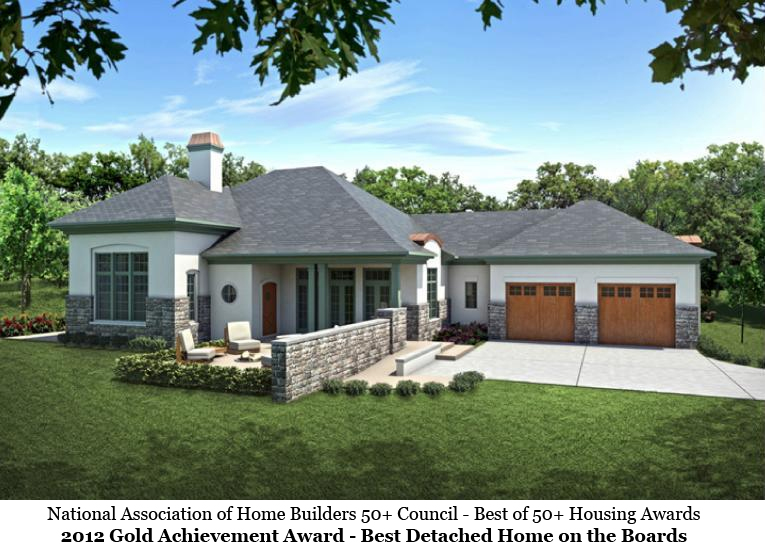 Award winning aging in place house plans homesmsp Universal design home plans