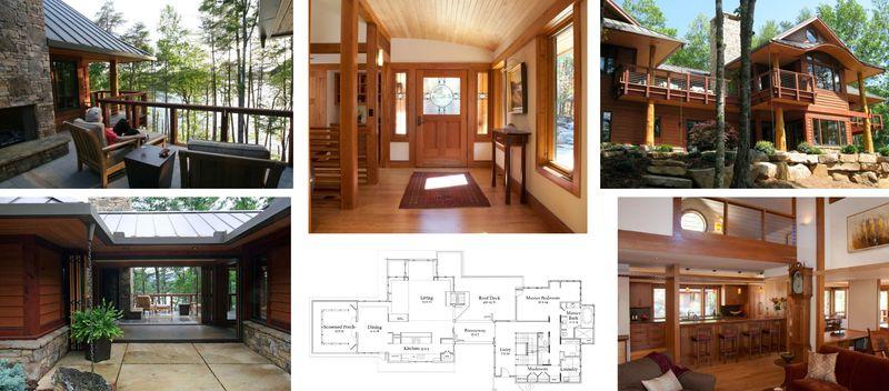 One of a kind retirement home designed by sarah susanka for Finehomebuilding com houses