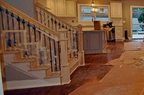 B&W Stairway Before