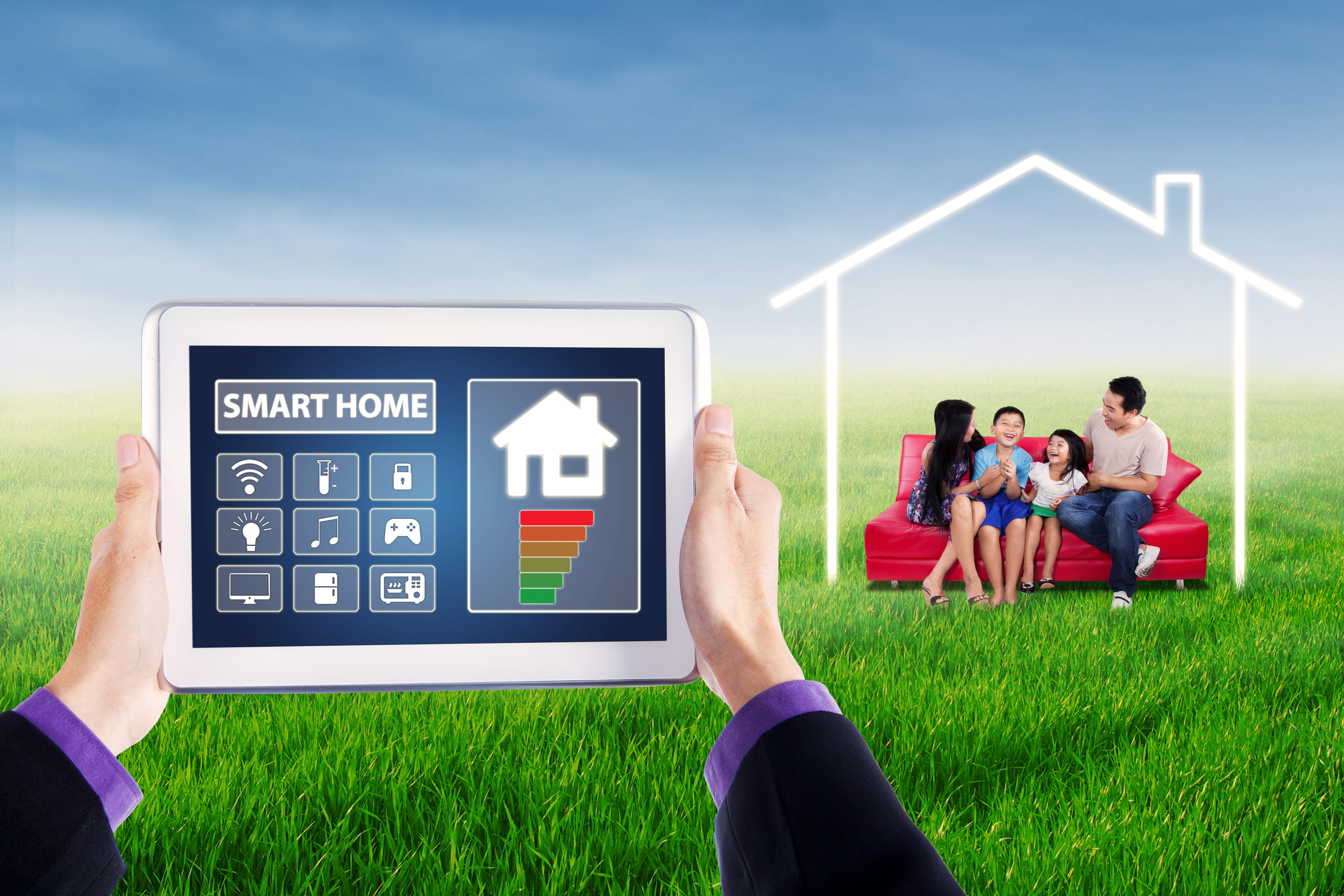 the basics for building a smart home homesmsp. Black Bedroom Furniture Sets. Home Design Ideas