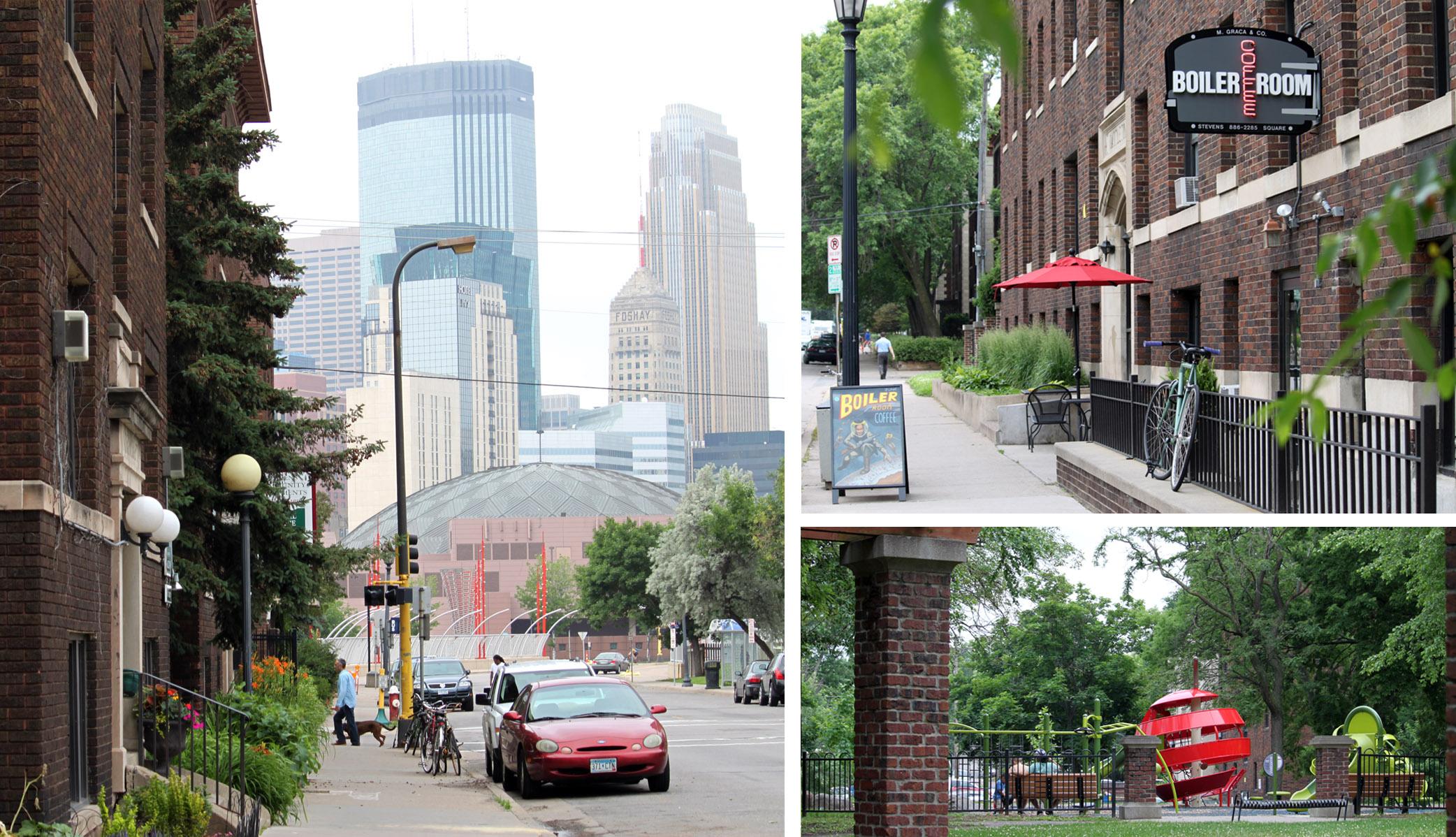 Stevens Square Neighborhood... this smallest Minneapolis ...