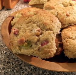 Rhubarb muffins1