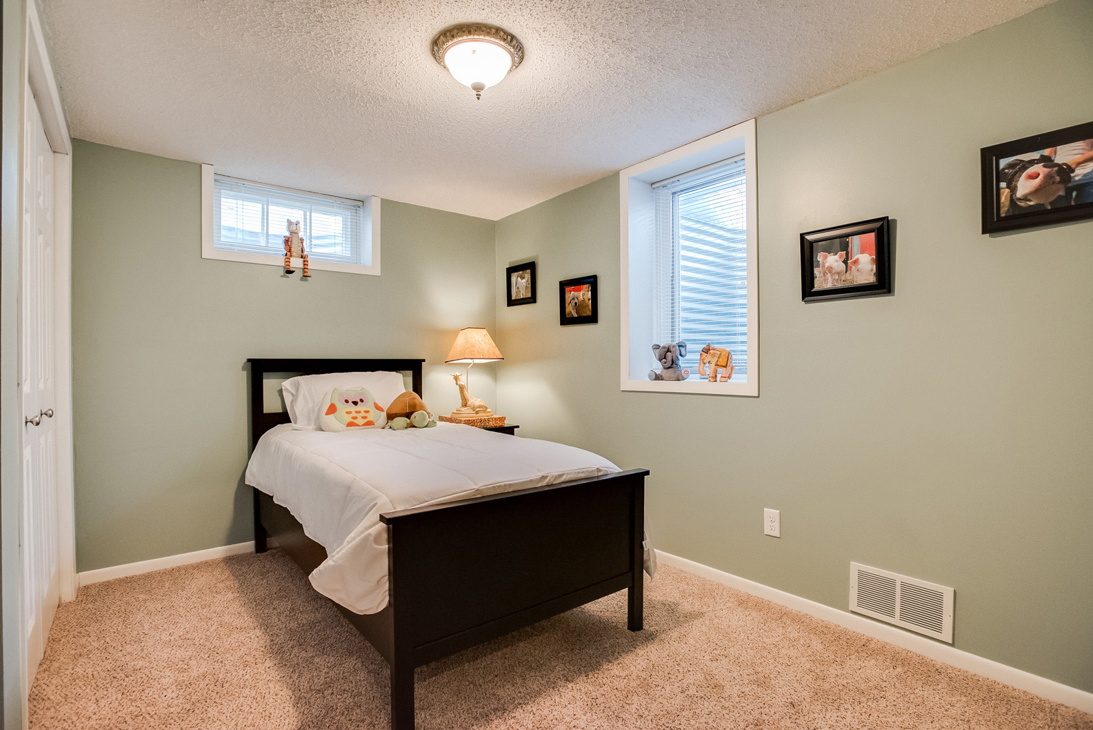 Basement Bedroom As more family homes that havenu0027t been sold for 40-50 years are hitting the  market we are seeing more homes with basement u0027bedroomsu0027 from years past  without ...
